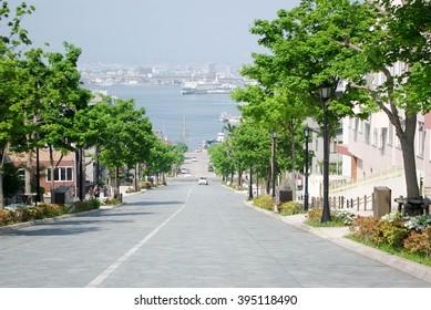 Hachimanzaka Hakodate Japan