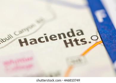 Hacienda Heights Map Images Stock Photos Vectors Shutterstock