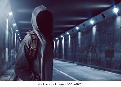 Hacker in the tunnel