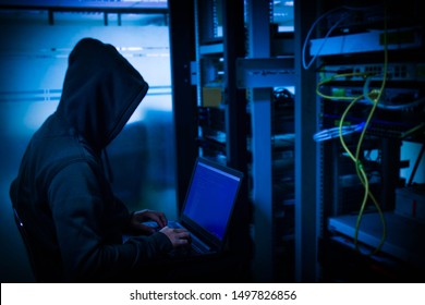 Hackers who steal into the organization to steal important information for ransom By embedding viruses on the server.