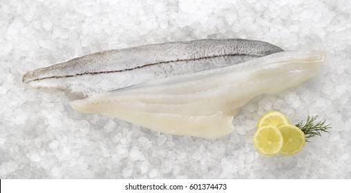 Haddock fish fillets