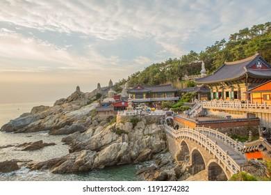 Haedong Yonggungsa Busan in South Korea  2018-09-24