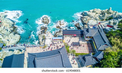 Haedong Yonggungsa Temple, Most popular location for traveller in Busan, Busan, South Korea