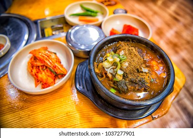 HAEJANGGUK, The famous Korean hangover stew is something It was really excited to sample when arrived in South Korea.