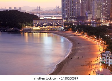 Haeundae Beach Night View - Busan, Korea