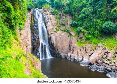 Haew Narok waterfall at national park, Thailand.