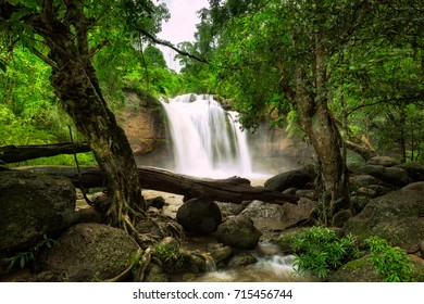 Haew Suwat Waterfall, Nakhon Ratchasima, Thailand