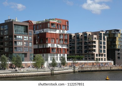 in the Hafencity of Hamburg, Germany