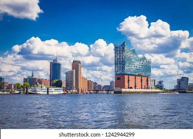 Hafencity in Hamburg - Deutschland