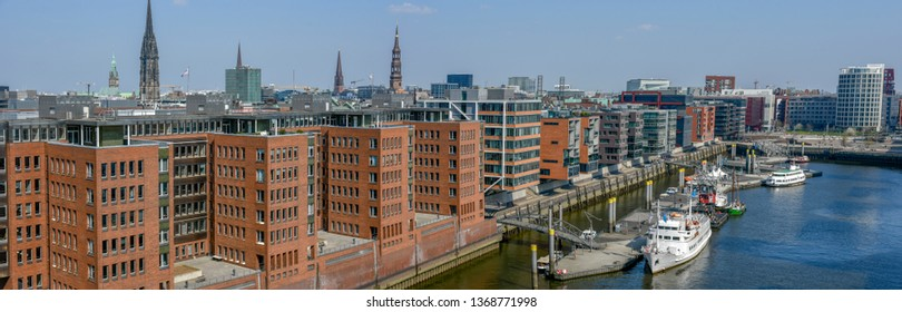 Hafencity in Hamburg, Germany