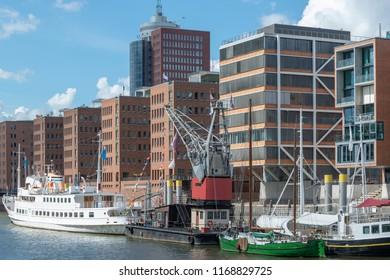 Hafencity in Hamburg,Germany