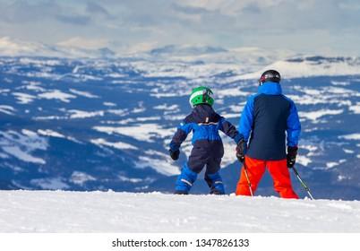 Hafjell Ski resort in Norway