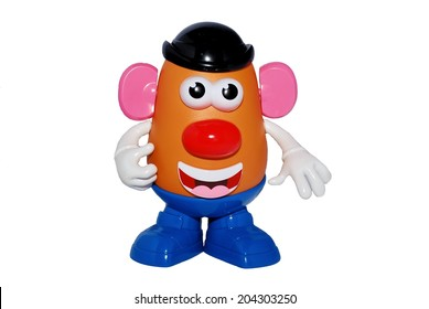 HAGERSTOWN, MD - JUNE 30, 2014:  Image of Mr. Potato Head, an American toy that was first available in 1952.