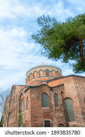 Hagia Irene or Hagia Eirene, sometimes known also as Saint Irene, is an Eastern Orthodox church located in the outer courtyard of Topkapı Palace in Istanbul.