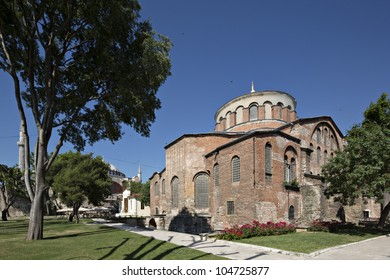 Hagia Irene or Hagia Eirene (Turkish: Aya ?rini), often erroneously rendered in English as St Irene, is a former Eastern Orthodox church located in the outer courtyard of Topkap? Palace in Istanbul.