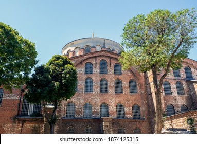 The Hagia Irene located in the outer courtyard of Topkapı Palace is the oldest church of the Eastern Roman Empire (Byzantine). The Hagia Irene today operates as a museum and concert hall.