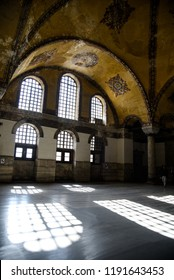 Hagia Sophia is the former Greek Orthodox Christian patriarchal cathedral, later an Ottoman imperial mosque and now a museum (Ayasofya Museum) in Istanbul,  Turkey, 2018