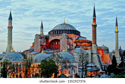 Hagia Sophia (Turkish: Ayasofya), Istanbul, Turkey.