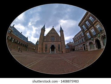 The Hague (Den Haag) in the Netherlands: The Parliament, the Binnenhof