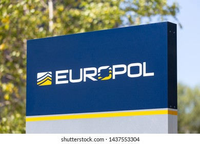 the hague, the hague/netherlands - 02 07 18: europol police central station in the hague