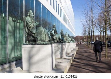 The Hague, Netherlands - February 13, 2018: Supreme Court of the Netherlands