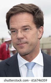 The Hague, The Netherlands - July 9, 2012: Portrait of Prime Minister Mark Rutte of the Netherlands