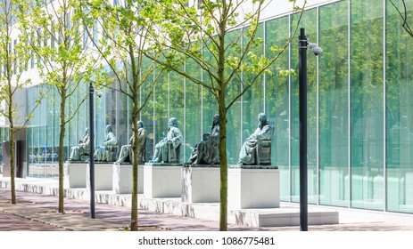 The Hague, Netherlands - May 07, 2018: Supreme Court of the Netherlands