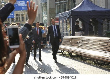 The Hague, The Netherlands - September 20, 2016: Prime Minister and Minister of General Affairs Mark Rutte in the Hague