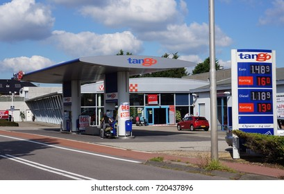 The Hague, The Netherlands. September 2017. Tango gas station in the Netherlands