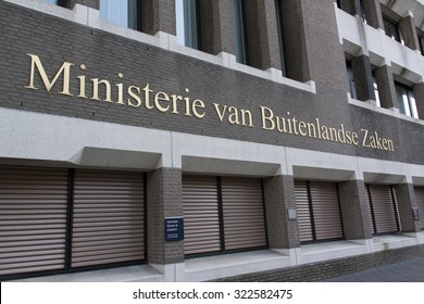 The Hague, Netherlands-september 26, 2015: Dutch Ministry of Internal Affairs in the Hague, Holland