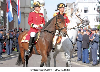 The Hague, South Holland, The Netherlands, September 16, 2008. Honorary Escorts parades on Prinsjesdag, the opening of the Parliamentary year in Holland.