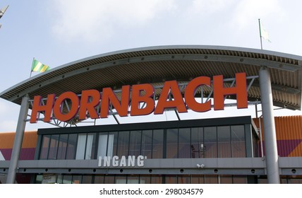 the hague,Netherlands-july 17, 2015: Hornbach is a DIY chain, this shop is located in the Hague Holland.