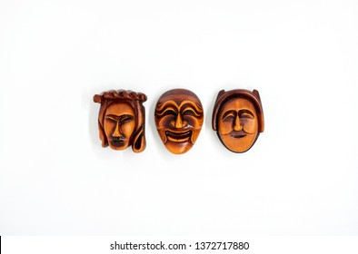 Hahoe mask is an old Korean traditional mask.