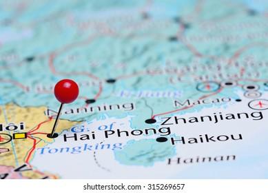 Hai Phong Map Images Stock Photos Vectors Shutterstock