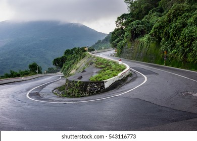 Hai Van Pass, is an approximately  long mountain pass on National Route 1A in Vietnam.