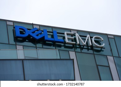 HAIFA, ISRAEL - CIRCA APRIL 2020: View of Dell-EMC office building
