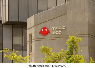 HAIFA, ISRAEL - CIRCA APRIL 2020: View of Magic Leap office building