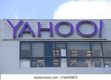 HAIFA, ISRAEL - CIRCA JUNE 2020: View of Yahoo office building