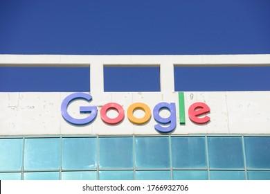 HAIFA, ISRAEL - CIRCA JUNE 2020: View of Google office building