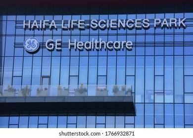 HAIFA, ISRAEL - CIRCA JUNE 2020: View of General Electric Healthcare  office building