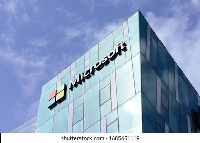 Haifa, Israel - CIRCA MARCH 2020: Microsoft's headquarters