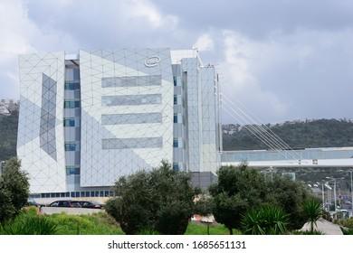 Haifa, Israel - CIRCA MARCH 2020: Intel Corp. headquarters