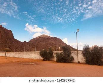 Hail in Saudi Arabia