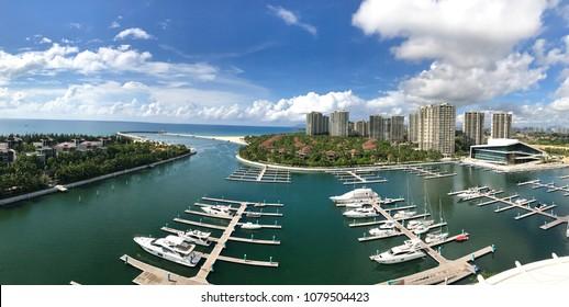 Hainan China: Beautiful Marina