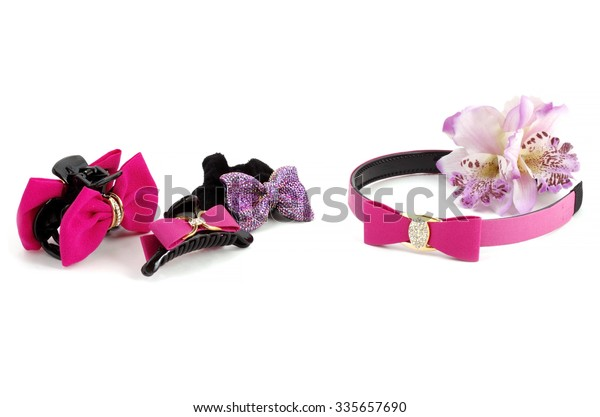 Hair Accessories advertising