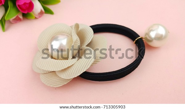 Hair Accessories Lady Rubber Band Hair Beauty Fashion Stock
