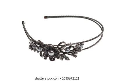 hair band isolated on white