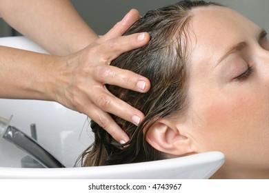 Hair beauty care, head massage