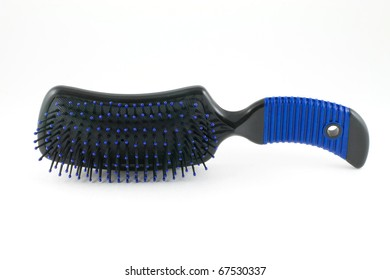 Hair Brush is isolated on a white background
