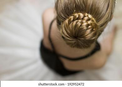 hair bun,ballerina